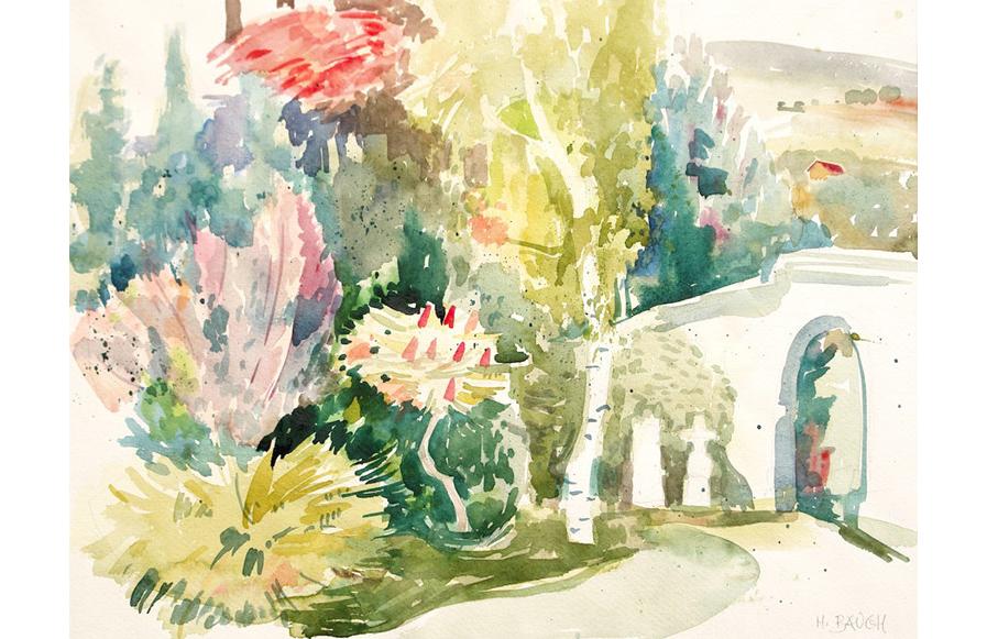 Gartenansicht Himmelkeller